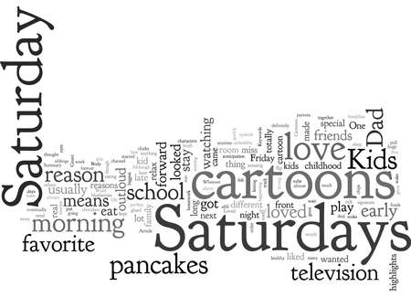 Cartoons Why I Loved Saturdays