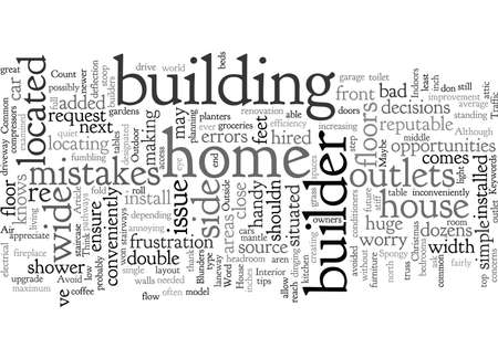 Common Builder Blunders and How to Avoid Them 版權商用圖片 - 132316389