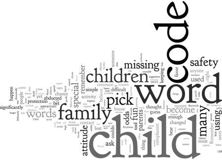 Child Safety How To Use Code Words Effectively