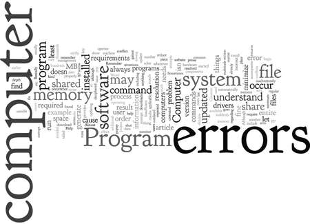 Common Computer Errors