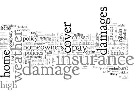 Can Your Home Insurance Stand Up To The Weather