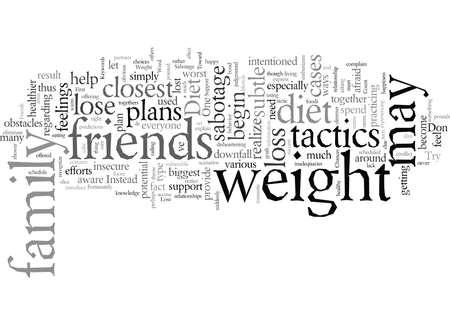 No permita que sus amigos y familiares saboteen su dieta