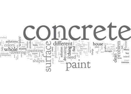 Concrete Paint Illustration