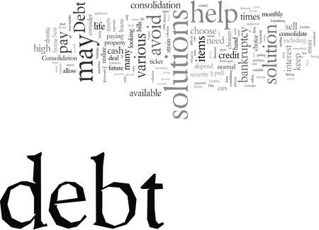 Debt Solutions To Consider Illustration