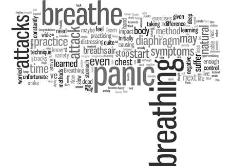 How To Breathe Through Your Next Panic Attack Illustration