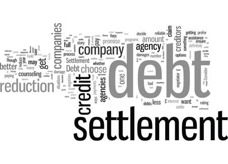 How to Choose a Better Debt Settlement Company