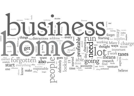 Home Business What to Consider