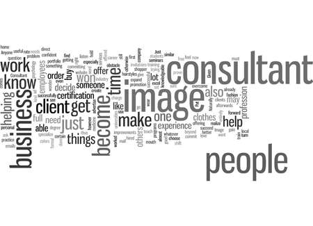 How to Become an Image Consultant 일러스트