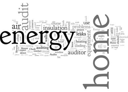 Energieaudits zu Hause