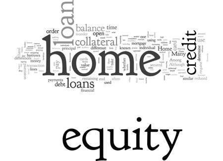 Home Equity Loans At A Glance