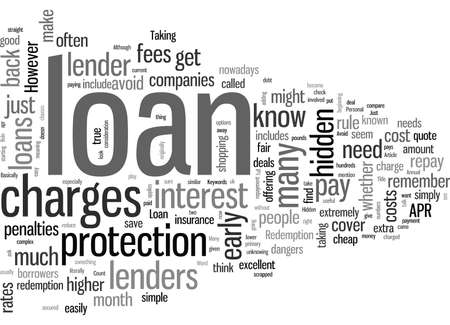 How To Avoid Hidden Loan Charges