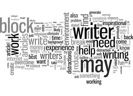 Come evitare e superare il blocco dello scrittore Vettoriali