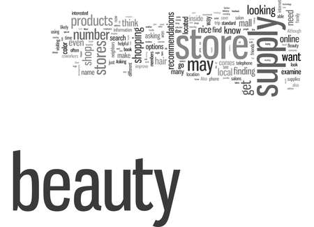 How to Find a Beauty Supply Store