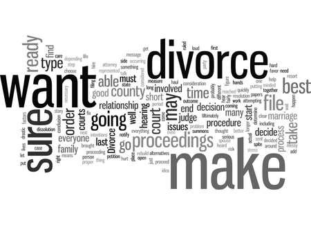 how to file for divorce Illustration