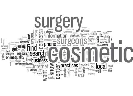 How to Find a Cosmetic Surgery Center