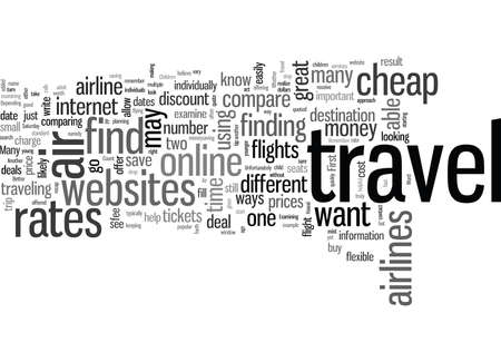 How to Find Cheap Air Travel Rates