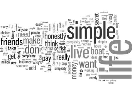 Cómo vivir una vida sencilla