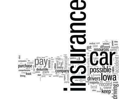 How To Get Low Rates On Automobile Insurance In Iowa