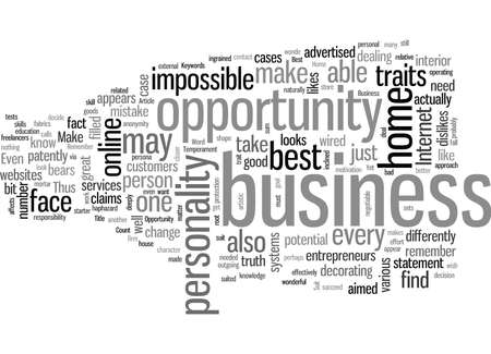 How To Find The Best Home Business Opportunity To Suit Your Temperament