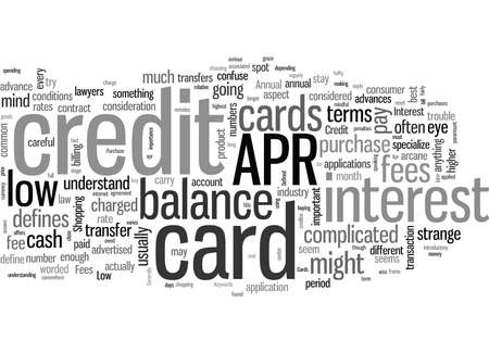 How To Shop For A Low Apr Credit Card