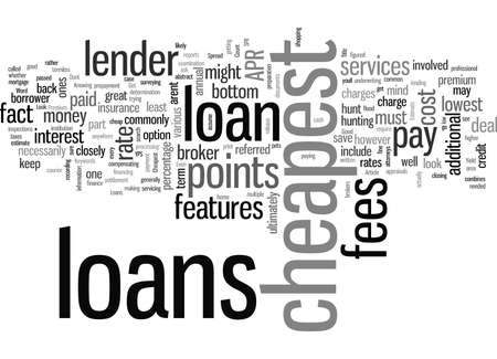 How To Get Your Hands On The Cheapest Loans