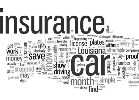 Comment obtenir une assurance automobile abordable en Louisiane
