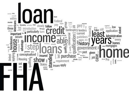 How To Pre Qualify For An FHA Home Loan