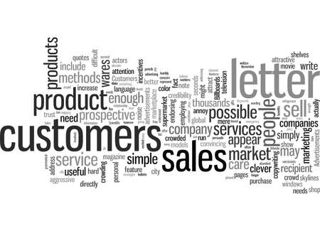 How To Write A Sales Letter That Sells Stock Illustratie