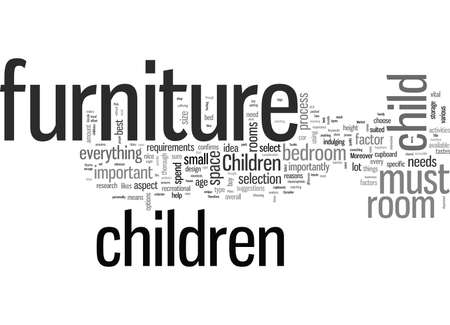 How To Pick The Right Furniture For Your Childrens Rooms
