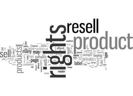 How To Make Money With Resell Rights Illustration