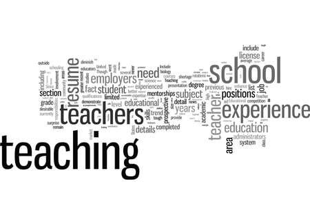 How To Write The Best Teacher Resume You Can Ilustração