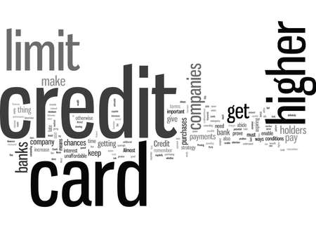 How To Get A Higher Credit Card Limit