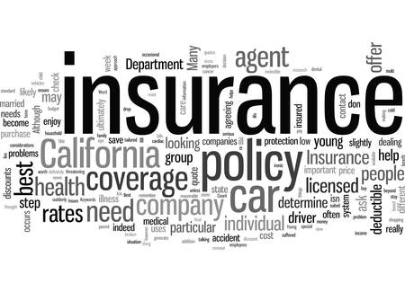 How To Get The Best Rates On Car Insurance In California