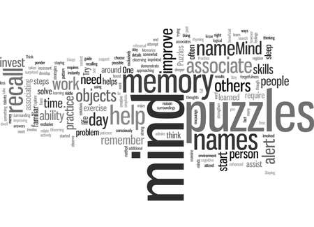 How to Memorize with Mind Puzzles