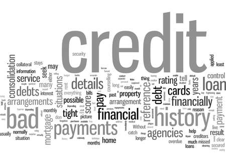 How To Repair A Bad Credit History