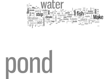 How To Make Your Own Backyard Fish Pond