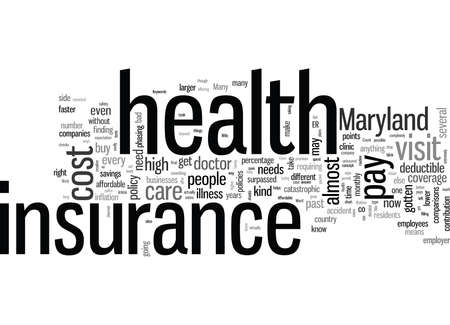 How To Get Affordable Health Insurance In Maryland