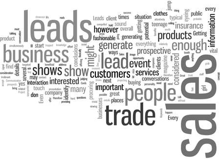How To Get Sales Leads At Trade Shows