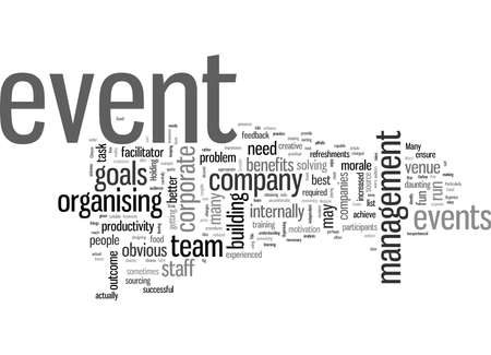 How to reap the awards from corporate events