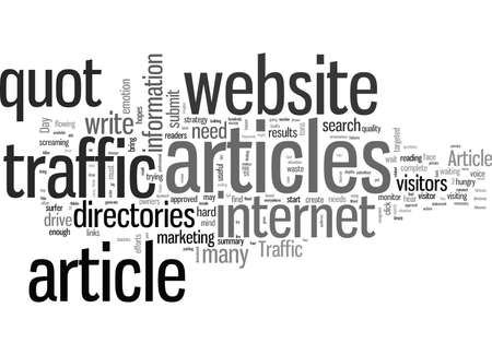 How To Jam Your Website With Traffic 矢量图像