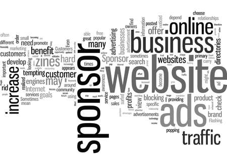 How To Use Sponsor Ads To Increase Website Traffic Stock Illustratie