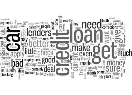 Cómo obtener un préstamo de automóvil con mal crédito
