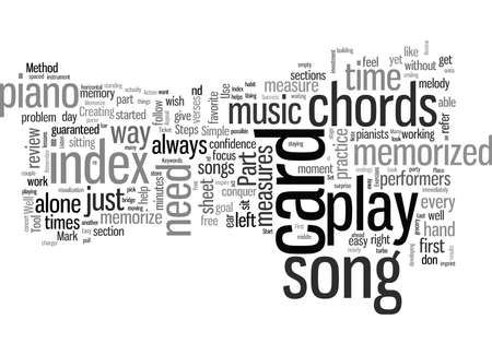 How To Memorize A Song The Easy Way