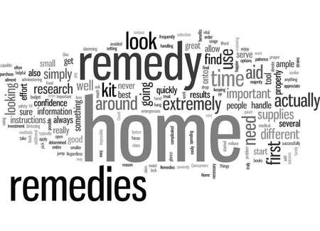 Important Tips for Home Remedies