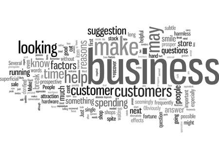 Important Factors That Can Make Or Break Your Business Stock Illustratie