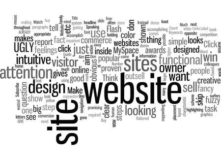 Is Your Website Ugly Enough Çizim