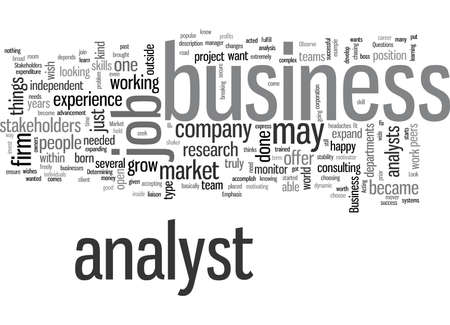 job market for a business analyst