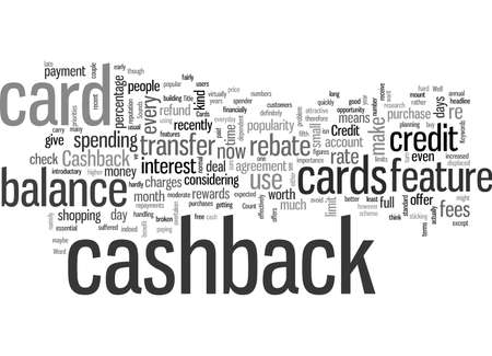 Is Cashback The Future For Credit Cards