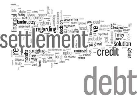 Le règlement de la dette est-il le bon choix pour vous Vecteurs