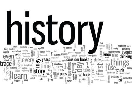 Importance of History in our life